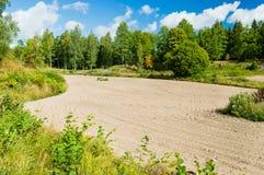Dry field Stock Image