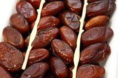 Dry figs Royalty Free Stock Images