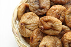 Dry figs and  grey Royalty Free Stock Photography