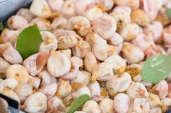 Dry figs for sale in a market Royalty Free Stock Image