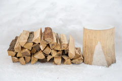 Dry firewood Royalty Free Stock Photo