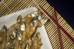 Dry Fish Royalty Free Stock Photos