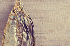 Dry fish bream Royalty Free Stock Images