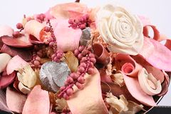 Dry flowers. Image of dry rose flowers Royalty Free Stock Photography