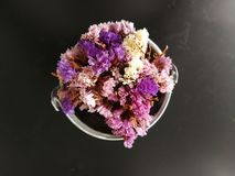 Dry flowers bouquet Royalty Free Stock Photo