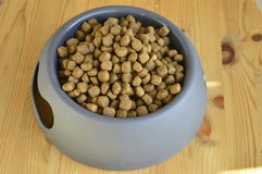 Dry food in a bowl Stock Images