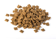 Dry food for dogs isolated Stock Photo