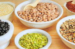 Dry food staples Royalty Free Stock Photography