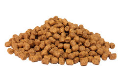Dry forage for kittens or cat Stock Photos