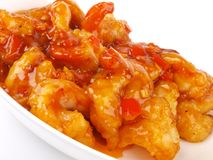 Dry Fried prawns Royalty Free Stock Photos