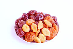 Dry fruit appetizing and useful Stock Photography