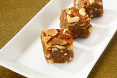 Dry Fruit Halva, Indian Sweets Stock Photography