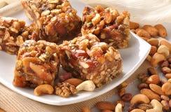 Dry Fruit honey Halwa Royalty Free Stock Photos