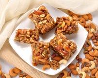 Dry Fruit honey Halwa Royalty Free Stock Photo
