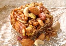 Dry Fruit honey Halwa Stock Photos