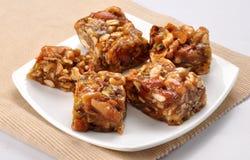 Dry Fruit honey Halwa Royalty Free Stock Photography