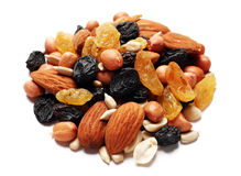 Dry fruit and nut Stock Photography