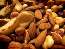 Dry fruit, nuts Royalty Free Stock Images