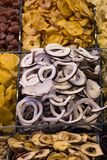 Dry fruit sell in market stock photography