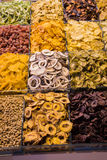 Dry fruit sell in market royalty free stock photos