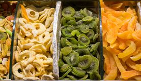 Dry fruit sell in market royalty free stock photography