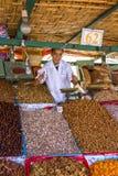 Dry fruit seller Stock Photo