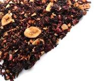 Dry fruit tea on white background stock image