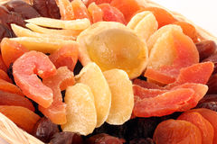 Dry Fruits. On a withe background Stock Images