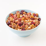 Dry fruits blend for granola or fruit cake. Royalty Free Stock Images