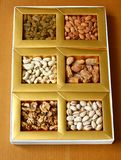 Dry Fruits in a box royalty free stock photography
