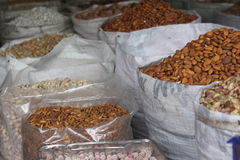 Dry fruits. From clock tower Sukkur Sindh Pakistan Stock Photos