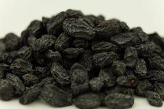 Dry fruits, dried black grapes manuka sultanas black currant raisin. Stock Photos
