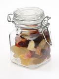 Dry fruits in a jar Royalty Free Stock Photos