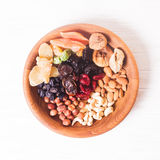 Dry fruits and nuts Royalty Free Stock Image
