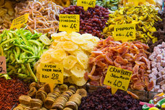 Dry fruits Royalty Free Stock Photos