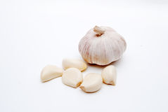 Dry garlic Royalty Free Stock Image