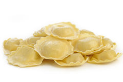 Dry girasole pasta Royalty Free Stock Photos