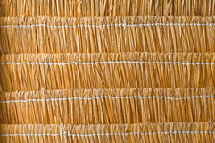 Dry grass roof  background Royalty Free Stock Images