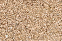 Dry gravel texture Royalty Free Stock Photos