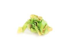 Dry green leaf Stock Photo