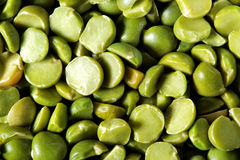 Dry Green Peas Stock Images