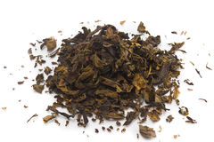 Dry green tea Royalty Free Stock Photography