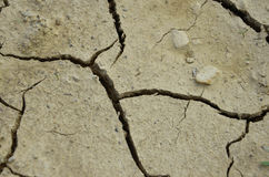Dry Ground. In close view Stock Photography