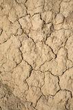 Dry Ground in Dought at Bardenas Reales Park; Navarre Royalty Free Stock Photos