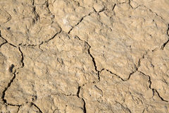Dry Ground in Dought at Bardenas Reales Park; Navarre Royalty Free Stock Photo