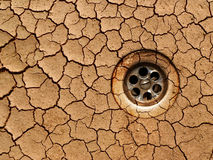Dry ground - drought Royalty Free Stock Photography