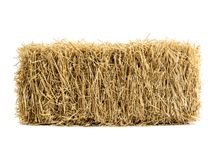 Dry Haystack Isolated Royalty Free Stock Photos