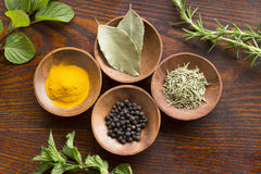 Dry herb and spice Royalty Free Stock Images