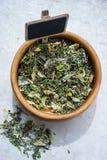 Dry herbal tea Royalty Free Stock Photography