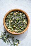 Dry herbal tea Royalty Free Stock Photography